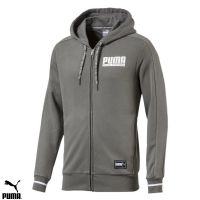 Men's Puma fleece Fullzip Hooded top (850040-39)(Option 1) x10: £15.95
